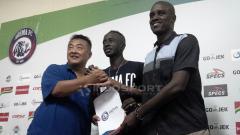 Indosport - Perpanjangan kontrak Makan Konate bersama Arema FC.