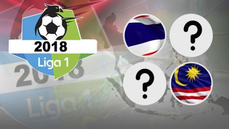 Indonesia Mendominasi, Ini Perbandingan Liga 1 dengan Ajang di 4 Negara Besar ASEA - INDOSPORT