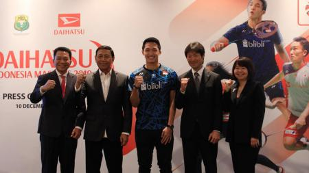 Jumpa Pers jelang Indonesia Masters 2018. - INDOSPORT
