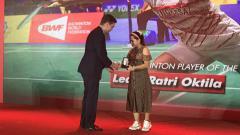 Indosport - Leani Ratri Oktila.