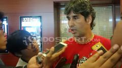 Indosport - Pelatih Persija, Stefano Cugurra Teco.