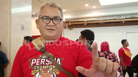 Ketua The Jakmania, Ferry Indrasjarief. - INDOSPORT