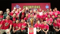 Indosport - Persija Jakarta menggelar makan malam bersama di acara Specs