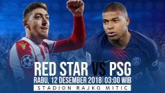 Indosport - Prediksi pertandingan Red Star vs PSG