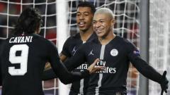 Indosport - Striker PSG, Kylian Mbapee dalam Laga Kontra Red Star Belgrade, Rabu (12/12/18)
