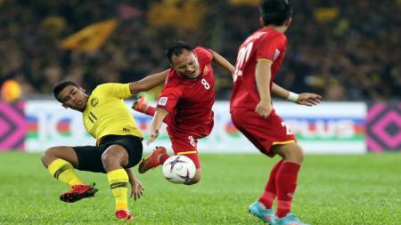 Timnas Malaysia vs Vietnam di final Piala AFF 2018. - INDOSPORT
