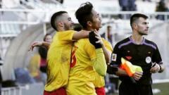 Indosport - Helmy Putra Damanik membawa klub Spanyol, CD Villamuriel memenangkan laga melawan Candeleda dengan skor 4-0 pada Sabtu (12/10/19).