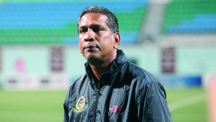 Pelatih Malaysia, B. Sathianathan (Malaysia) Copyright: todayonline