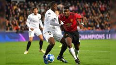 Indosport - Mouctar Diakhaby dan Paul Pogba.