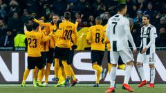 Indosport - Para pemain Young Boys berselebrasi.
