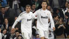 Indosport - Rafael Van der Vaart dan Cristiano Ronaldo