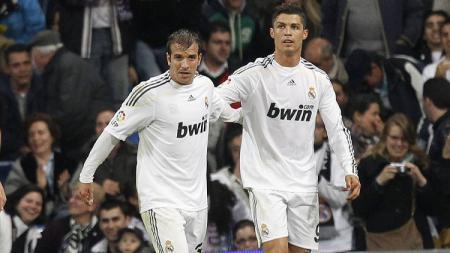 Rafael Van der Vaart dan Cristiano Ronaldo - INDOSPORT