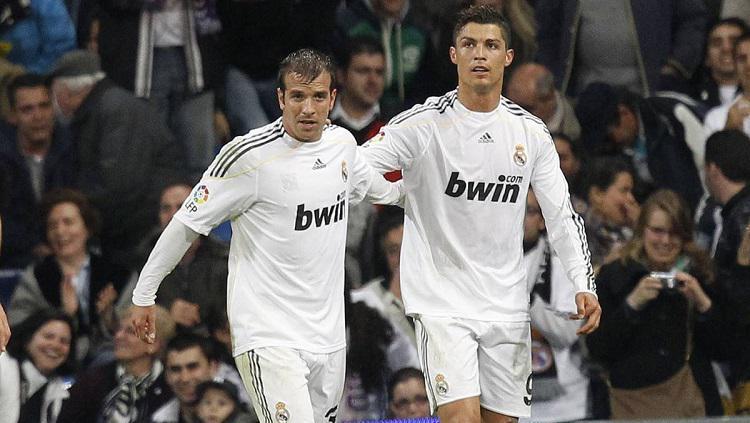 Rafael Van der Vaart dan Cristiano Ronaldo Copyright: Diario AS