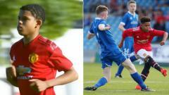Indosport - Shola Shoretire, pemain termuda Liga Champions U-19