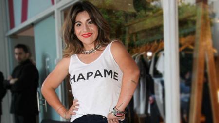 Gianinna Maradona, mantan istri Sergio Aguero - INDOSPORT