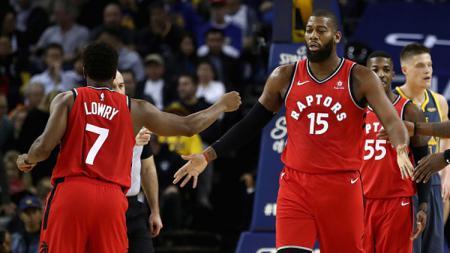 Toronto Raptors berhasil memuncaki klasemen sementara Wilayah Timur. - INDOSPORT