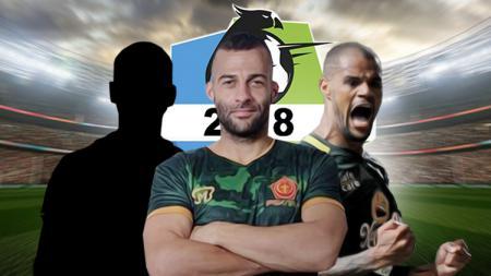 Tiga penyerang terbaik Liga 1 versi Indosport - INDOSPORT