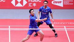 Indosport - Ahsan dan Hendra, comeback pebulutangkis tersukses di BWF World Tour Finals.