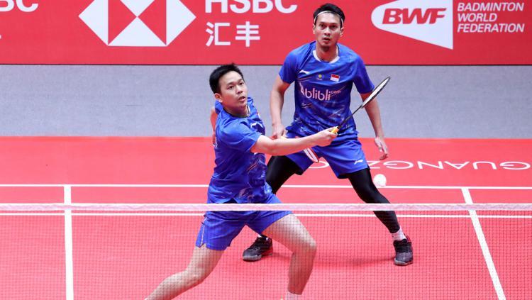 Ahsan dan Hendra, comeback pebulutangkis tersukses di BWF World Tour Finals. Copyright: badmintonindonesia.org