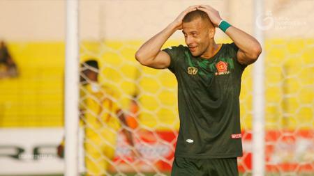 Striker PS TIRA sekaligus top skor Liga 1 2018 Aleksandar Rakic. - INDOSPORT