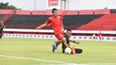 Pemain muda Ammarsyahdi Al Hayandi Hamid saat membela Persija Jakarta di ajang Kratingdaeng Piala Indonesia - INDOSPORT
