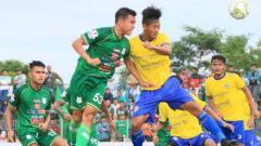 Indosport - Pertandingan Piala Presiden 2018 babak 64 Besar: Kepri Jaya vs PSMS Medan