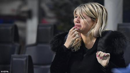 Istri sekaligus agen dari Mauro Icardi, Wanda Nara, mengatakan bahwa kehidupannya jadi berantakan setelah sang suami meninggalkan Inter Milan untuk gabung PSG. - INDOSPORT