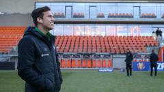 Indosport - Pemain Lechia Gdansk Egy Maulana Vikri saat akan menjalani latihan.