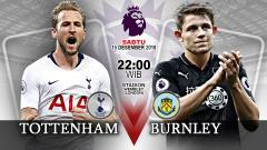 Indosport - Pertandingan Tottenham Hotspur vs Burnley.
