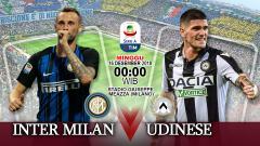 Indosport - Prediksi Inter Milan Vs Udinese.