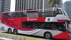 Indosport - Bus Konvoi untuk Persija