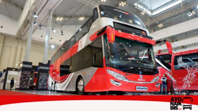 Tampak Luar Scania K310 UB Copyright: http://ayonaikbis.com