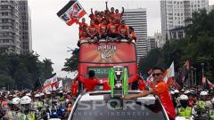 Indosport - Konvoi Persija Jakarta