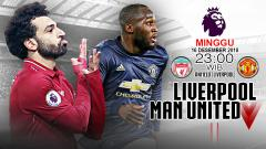 Indosport - Pertandingan Liverpool vs Manchester United.