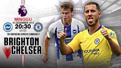 Indosport - Pertandingan Brighton vs Chelsea.