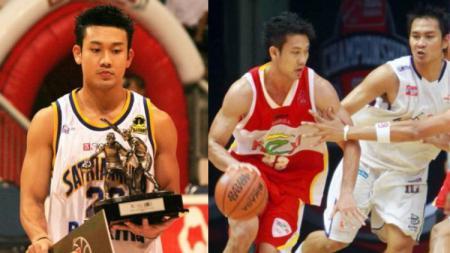 Pandji Pragiwaksono kenang momen Denny Sumargo ketika masih menjadi atlet basket bareng Garuda Bandung 2008 lalu. - INDOSPORT
