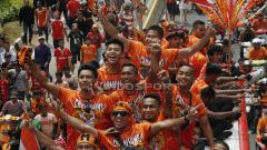 Indosport - Persija Jakarta bisa jadi kena efek para raksasa Eropa dengan kembali menjuarai Liga 1.