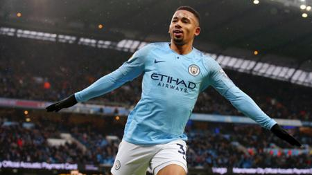 Striker Manchester City, Gabriel Jesus. - INDOSPORT