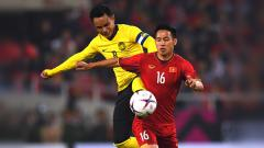 Indosport - Pertandingan Vietnam vs Malaysia.