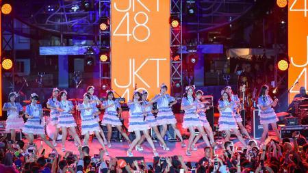 Multitalenta, member JKT48 jago main game Mobile Legends dan PUBG, dan membentuk tim eSPorts bernama Valkyrie48. - INDOSPORT