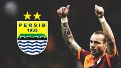 Indosport - wesley Sneijder Dikaitkan dengan Persib Bandung