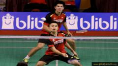 Indosport - Pasangan ganda putra, Leo Rolly Carnando/Daniel Marthin