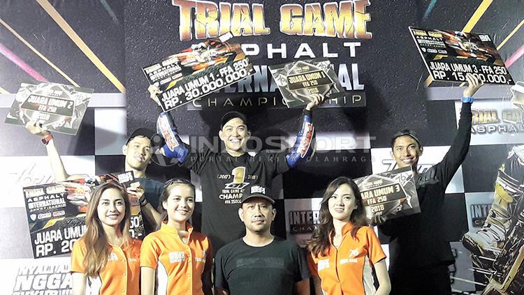Doni Tata Pradita menyabet juara umum TGA tahun 2017 dan 2018. Copyright: Ian Setiawan/INDOSPORT
