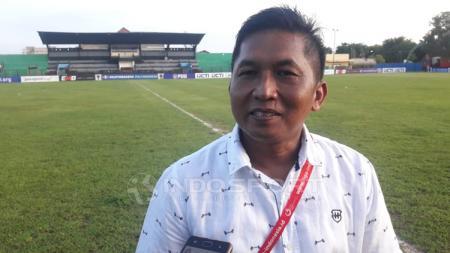 Manajer Madura FC, Januar Herwanto - INDOSPORT