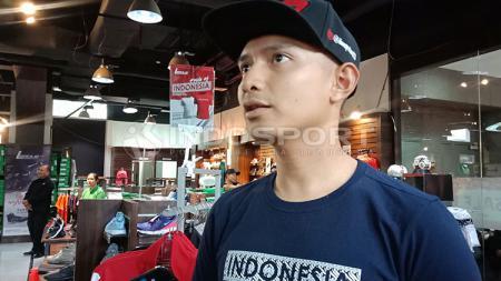 Dimas Ekky jadi satu-satunya pembalap Indonesia di Moto 2 musim depan. - INDOSPORT