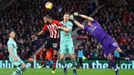 Southampton vs Arsenal. - INDOSPORT