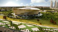 Indosport - Stadion Lusail untuk Piala Dunia 2022