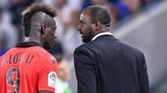 Indosport - Mario Balotelli kini bermain di bawah arahan mantan rekannya, Patrick Vieira.