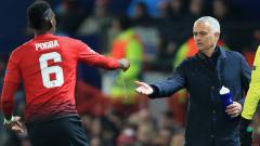 Indosport - Paul Pogba dan Jose Mourinho