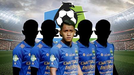 Lima pemain lokal Persib Bandung yang masuk jajaran termahal di Liga 1 2018 - INDOSPORT